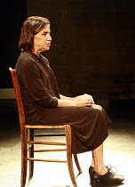 Fragments - ROCKABY   by Samuel Beckett   director: Peter Brook  ~Kathryn Hunter (Woman)~Theatre des Bouffes du Nord / Paris & The Young Vic / London co-production     ~The Young Vic (YV) / London SE1...