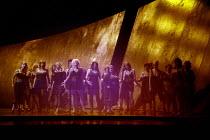 CARMEN   by Bizet   conductor: Edward Gardner   set design: Es Devlin   costume design: Catherine Zuber   lighting: Mimi Jordan Sherin   director: Sally Potter <br>,opening scene - sex workers emerge...