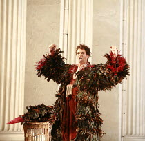 THE MAGIC FLUTE (Die Zauberflote)   by Mozart   conductor: Martin Andre   original director: Nicholas Hytner <br>,Roderick Williams (Papageno),English National Opera (ENO) / London Coliseum  WC2...