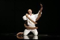 THE MAGIC FLUTE (Die Zauberflote)   by Mozart   conductor: Martin Andre   original director: Nicholas Hytner <br>,Andrew Kennedy (Tamino)   ,English National Opera (ENO) / London Coliseum  WC2...