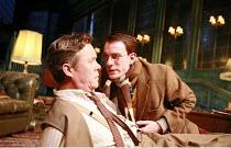 PRESENT LAUGHTER   by Noel Coward   director: Howard Davies <br>,l-r: Alex Jennings (Garry Essendine), Pip Carter (Roland Maule),Lyttelton Theatre / National Theatre (NT), London SE1    02/10/2007,