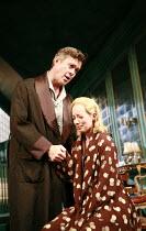 PRESENT LAUGHTER   by Noel Coward   director: Howard Davies <br>,Alex Jennings (Garry Essendine), Amy Hall (Daphne Stillington),Lyttelton Theatre / National Theatre (NT), London SE1    02/10/2007,
