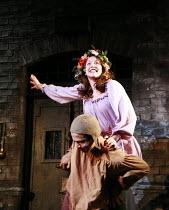 THE CHANGELING   by Middleton & Rowley   director: Stephen Unwin <br>,Geoffrey Lumb (Antonio), Marianne Oldham (Isabella),English Touring Theatre (ETT) / Nottingham Playhouse, Nottingham, England   04...
