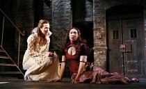 THE CHANGELING   by Middleton & Rowley   director: Stephen Unwin <br>,l-r: Anna Koval (Beatrice-Joanna), Samantha Lawson (Diaphanta),English Touring Theatre (ETT) / Nottingham Playhouse, Nottingham, E...