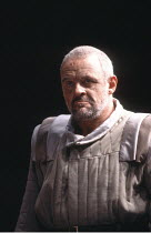 KING LEAR by Shakespeare  set design: Hayden Griffin  costumes: Christine Stromberg  lighting: Rory Dempster  director: David Hare  ~Anthony Hopkins (King Lear)~Olivier Theatre, National Theatre (NT),...