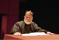 KING LEAR   by Shakespeare   director: Richard Eyre <br>,Ian Holm (King Lear),Cottesloe Theatre / National Theatre, London SE1           27/03/1997,