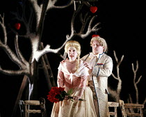 COUNTRY MATTERS   by Haydn   conductor: Justin Doyle   director: Liam Steel <br>,Lorina Gore (Sandrina), Huw Rhys-Evans (Filippo),English Touring Opera (ETO) / Hackney Empire, London E8     13/10/2007...