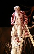 COUNTRY MATTERS   by Haydn   conductor: Justin Doyle   director: Liam Steel <br>,top: Andrew Staples (Nencio)   below: Huw Rhys-Evans (Filippo),English Touring Opera (ETO) / Hackney Empire, London E8...