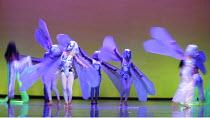 THE CORONATION OF POPPEA   by Monteverdi   conductor: Laurence Cummings   ,set design: Walt Spangler   costume design: Elizabeth Caitlin Ward   lighting: Mimi Jordan Sherin   director: Chen Shi-Zheng...