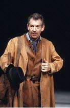 KING LEAR by Shakespeare  design: Hildegard Bechtler  lighting: Jean Kalman  director: Deborah Warner <br>~Ian McKellen (Earl of Kent) ~Lyttelton Theatre, National Theatre (NT), London SE1  26/07/1990...
