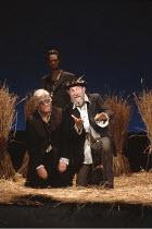 KING LEAR   by Shakespeare   director: Nicholas Hytner <br>,Norman Rodway (Earl of Gloucester), Linus Roache (Edgar), John Wood (Lear),Royal Shakespeare Company (RSC) / Royal Shakespeare Theatre     S...