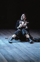 KING LEAR   by Shakespeare   design: Bob Crowley   director: Adrian Noble <br>,Antony Sher (Lear's Fool),Royal Shakespeare Company (RSC) / Barbican Theatre, London EC2       31/05/1983...