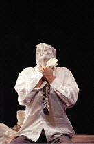 KING LEAR   by Shakespeare   design: Paul Andrews   director: Jude Kelly <br>,Damian Goodwin (Edmund),West Yorkshire Playhouse (WYP) / Leeds, England       28/09/1995,
