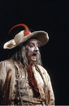 KING LEAR   by Shakespeare   design: Richard Hudson   director: Jonathan Miller <br>,Peter Bayliss (Lear^s Fool),The Old Vic, London SE1        28/03/1989,