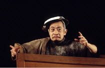 THE TALE OF LEAR   after Shakespeare   designed & directed by Tadeshi Suzuki <br>,Uichiro Fueda (Old Man/Lear),Suzuki Company of Toga / Barbican Theatre, London EC2    09/11/1994,