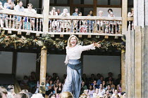 KING LEAR   by Shakespeare   director/Master of Play: Barry Kyle <br>,Felicity Dean (Regan),Shakespeare's Globe, London SE1               22/05/2001   ,
