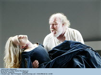 'KING LEAR' (Shakespeare)~Rachel Pickup (Cordelia), Timothy West (King Lear)~The Old Vic   London SE1                         25/03/2003