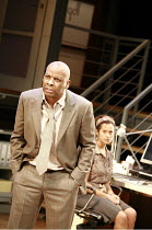 STATEMENT OF REGRET   by Kwame Kwei-Armah   director: Jeremy Herrin <br>,Don Warrington (Kwaku Mackenzie), Angel Coulby (Issi),Cottesloe Theatre / National Theatre (NT), London SE1    14/11/2007,