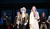 DESPERATELY SEEKING SUSAN   book & concept: Peter Michael Morino   music & lyrics: Blondie   director: Angus Jackson <br>,l-r: Emma Williams (Susan), Kelly Price (Roberta Glass),Novello Theatre, Londo...