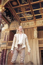 AS YOU LIKE IT   by Shakespeare   design: Bunny Christie   director: Lucy Bailey <br>,Anastasia Hille (Rosalind),Shakespeare^s Globe (SG), London SE1    20/05/1998              ,