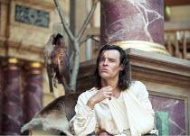 AS YOU LIKE IT   by Shakespeare   design: Bunny Christie   director: Lucy Bailey <br>,Paul Hilton (Orlando),Shakespeare^s Globe (SG), London SE1    20/05/1998              ,