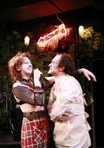 tHe dYsFUnCKshOnalZ!   by Mike Packer   director: Tamara Harvey <br>,Julia Ford (Louise Gash), Rupert Procter (Billy Abortion)   ,Bush Theatre, London W12     20/11/2007               ,