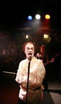 tHe dYsFUnCKshOnalZ!   by Mike Packer   director: Tamara Harvey <br>,Rupert Procter (Billy Abortion), Julia Ford (Louise Gash),Bush Theatre, London W12     20/11/2007               ,