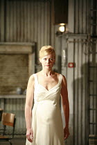 WOMEN OF TROY   by Euripides   from a version by Don Taylor   ,set design: Bunny Christie   costume design: Vicki Mortimer   director: Katie Mitchell <br>,Anastasia Hille (Andromache),Lyttelton Theatr...
