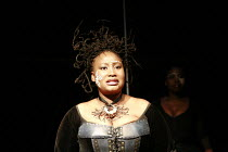 THE MAGIC FLUTE - IMPEMPE YOMLINGO   by Mozart   adapted & directed by Mark Dornford-May <br>,Pauline Malefane (Queen of the Night),Isango/Portobello-Young Vic production / The Young Vic (YV), London...