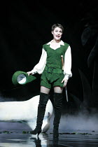 JACK AND THE BEANSTALK   written by Jonathan Harvey   ,music & lyrics: George Stiles & Anthony Drewe   design: Kenny Miller   director: Giles Havergal ,Helen Baker (Jack),BITE:07 / Barbican Theatre, L...