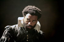 OTHELLO    by Shakespeare   director: Michael Grandage <br>,Chiwetel Ejiofor (Othello),Donmar Warehouse / London WC2                 04/12/2007,