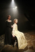 OTHELLO    by Shakespeare   director: Michael Grandage <br>,l-r: Michelle Fairley (Emilia), Kelly Reilly (Desdemona),Donmar Warehouse / London WC2                 04/12/2007,