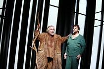 PARSIFAL   by Wagner   conductor: Bernard Haitink   original director: Klaus Michael Gruber <br>,l-r: John Tomlinson (Gurnemanz), Christopher Ventris (Parsifal),The Royal Opera (RO) / Covent Garden...