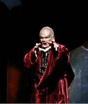 PARSIFAL   by Wagner   conductor: Bernard Haitink   original director: Klaus Michael Gruber <br>,Act II: Willard W. White (Klingsor),The Royal Opera (RO) / Covent Garden   London WC2    06/12/2007...