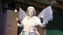 CINDERELLA   by Stephen Fry   music: Anne Dudley   design: Stephen Brimson Lewis   director: Fiona Laird <br>,Pauline Collins (Fairy Godmother),Old Vic Theatre (OV), London SE1                 09/12/2...