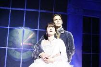 CINDERELLA   by Stephen Fry   music: Anne Dudley   design: Stephen Brimson Lewis   director: Fiona Laird <br>,Madeleine Worrall (Cinderella), Joseph Millson (Prince Charming),Old Vic Theatre (OV), Lon...