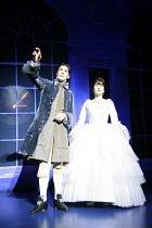 CINDERELLA   by Stephen Fry   music: Anne Dudley   design: Stephen Brimson Lewis   director: Fiona Laird <br>,Joseph Millson (Prince Charming), Madeleine Worrall (Cinderella) ,Old Vic Theatre (OV), Lo...