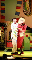 CINDERELLA   book & lyrics: Trish Cooke   music & lyrics: Robert Hyman   director: Kerry Michael <br>,l-r: Royce Ullah (Baron Pierre Sans Rien), Michael Bertenshaw (Woz Mine-Izzmine),Theatre Royal, St...