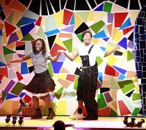CINDERELLA   book & lyrics: Trish Cooke   music & lyrics: Robert Hyman   director: Kerry Michael <br>,Debbie Korley (Cinderella), Darren Hart (Buttons),Theatre Royal, Stratford E15...