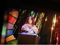 CINDERELLA   book & lyrics: Trish Cooke   music & lyrics: Robert Hyman   director: Kerry Michael <br>,Debbralee Wells (Fairy Godmother),Theatre Royal, Stratford E15                           01/12/200...