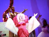 CINDERELLA   book & lyrics: Trish Cooke   music & lyrics: Robert Hyman   director: Kerry Michael <br>,Michael Bertenshaw (Woz Mine-Izzmine - the panto Dame),Theatre Royal, Stratford E15...