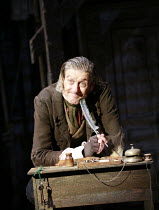 THE LIFE AND ADVENTURES OF NICHOLAS NICKLEBY   by Charles Dickens   ,adapted by David Edgar   design: Simon Higlett   directors: Jonathan Church & Philip Franks <br>,Richard Bremmer (Newman Noggs)   ,...