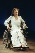 BROKEN GLASS   by Arthur Miller   design: Shelagh Keegan   director: David Thacker <br>,Margot Leicester (Sylvia Gellburg),Lyttelton Theatre / National Theatre (NT), London SE1 04/08/1994    ,