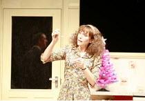 ABSURD PERSON SINGULAR   by Alan Ayckbourn   design: Michael Pavelka   director: Alan Strachan <br>,Lea Williams (Eva Jackson),Garrick Theatre, London WC2                        11/12/2007,