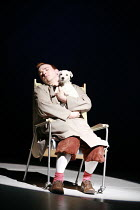 HERGE'S ADVENTURES OF TINTIN   by Herge   ,dramatised by Rufus Norris & David Greig   director: Rufus Norris  ,'Dream sequence': Matthew Parish (Tintin)   with Snowy,Young Vic / Barbican Theatre co-p...