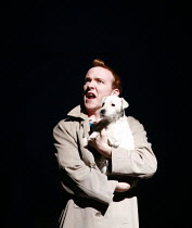 HERGE'S ADVENTURES OF TINTIN   by Herge   ,dramatised by Rufus Norris & David Greig   director: Rufus Norris ~,Matthew Parish (Tintin)   with Snowy,Young Vic / Barbican Theatre co-production   Playhou...