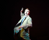 HERGE'S ADVENTURES OF TINTIN   by Herge   dramatised by Rufus Norris & David Greig   director: Rufus Norris <br>,Matthew Parish (Tintin) ,Young Vic / Barbican Theatre co-production   Playhouse Theatre...