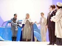 LA CENERENTOLA   (CINDERELLA)   by Rossini   ,conductor: Evelino Pido   set design: Christian Fenouillat   costume design: Agostino Cavalca   directors: Moshe Leiser & Patrice Caurier ,l-r: Stephane D...