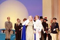 LA CENERENTOLA   (CINDERELLA)   by Rossini   ,conductor: Evelino Pido   set design: Christian Fenouillat   costume design: Agostino Cavalca   directors: Moshe Leiser & Patrice Caurier ,left: Stephane...