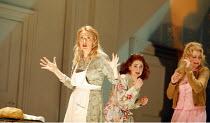 LA CENERENTOLA   (CINDERELLA)   by Rossini   ,conductor: Evelino Pido   set design: Christian Fenouillat   costume design: Agostino Cavalca   directors: Moshe Leiser & Patrice Caurier <br>,l-r: Magdal...